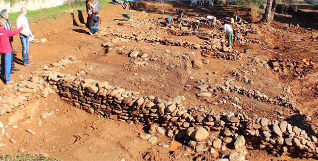 Le site d'I Palazzi sur les hauteurs de Venzolasca (Archives CNI)