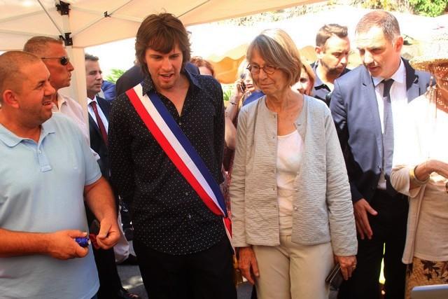 Françoise Nyssen, ministre de la Culture, entre Aregnu et Pioggiola
