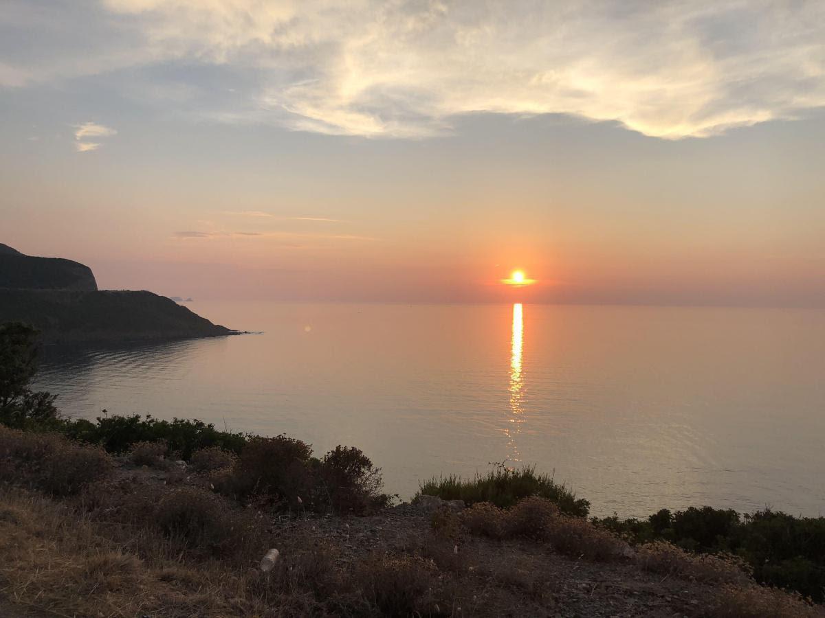 La photo du jour  : Lueurs crépusculaires à  l'Ostriconi