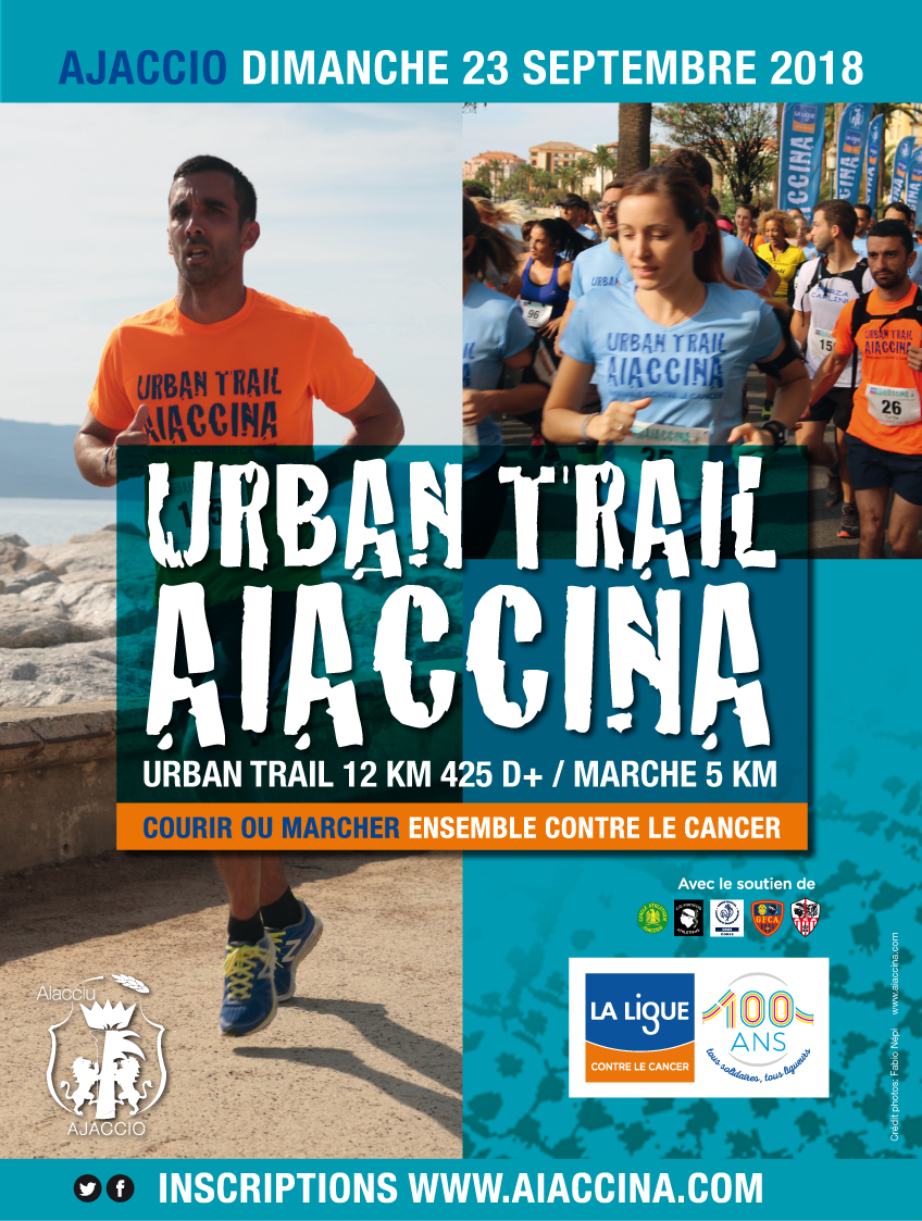Urban Trail Aiaccina : Une course solidaire contre le cancer