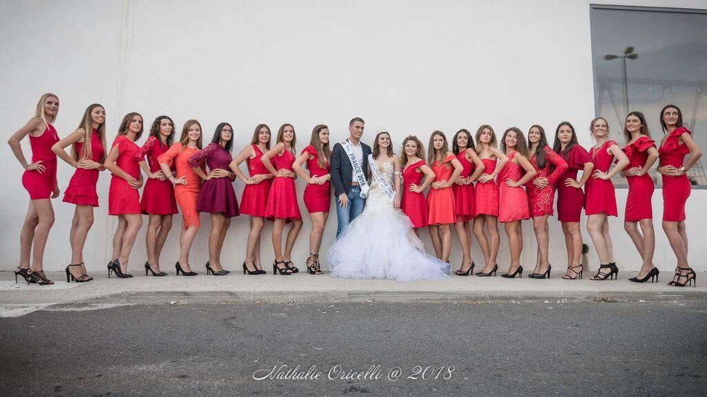 De belles et jeunes prétendantes au titre de Miss 15/17 Corse