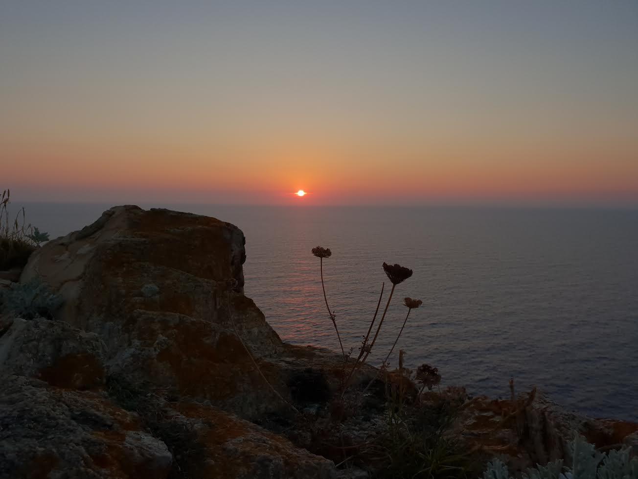 La photo du jour : Coucher de Soleil sur La Revellata