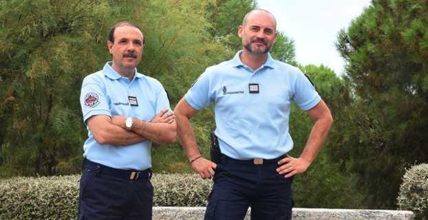 Le Chef d'escadron Paulo de Carvalho, nouveau commandant de la Compagnie de la Gendarmerie Calvi-Balagne