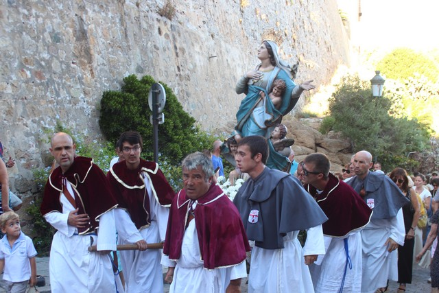 Ferveur et dévotion à Calvi pour la Vierge Marie patronne de la Corse
