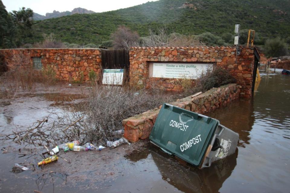 Site inondé