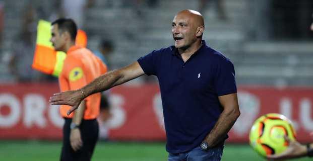 L'entraineur Olivier Pantaloni (Crédit photo Michel Luccioni)