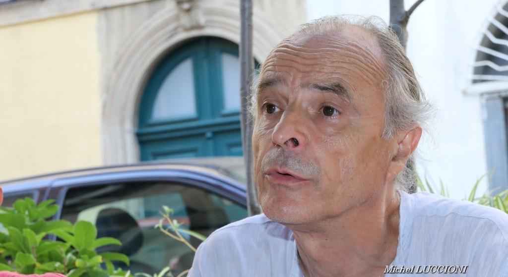 résident de la Ligue des Droits de l'Homme Corsica, André Paccou.