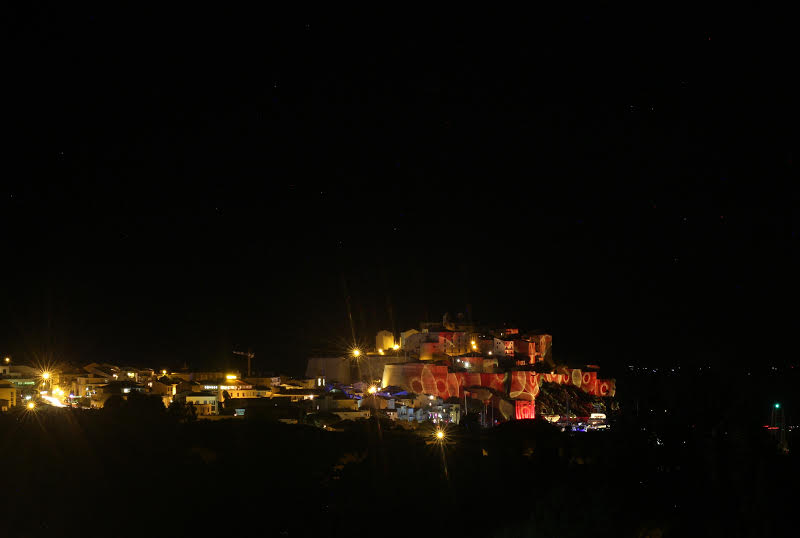 La photo du jour : Calvi, les couleurs de la nuit...