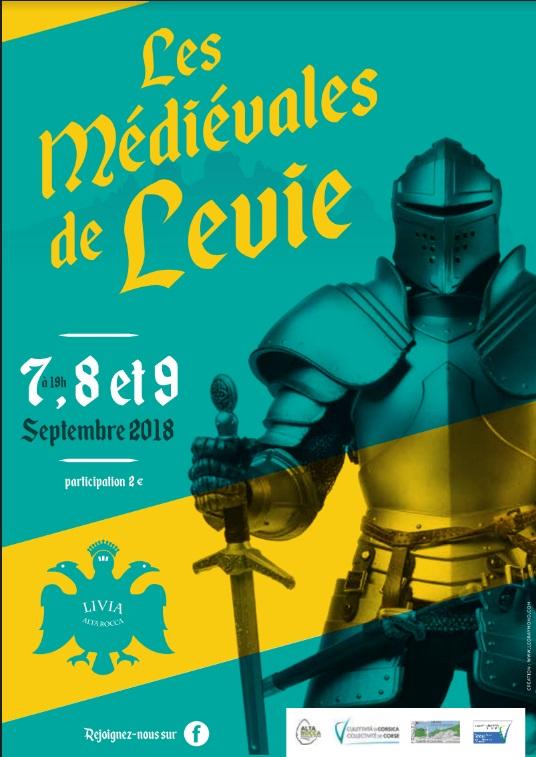 Les Médiévales de Levie 2018
