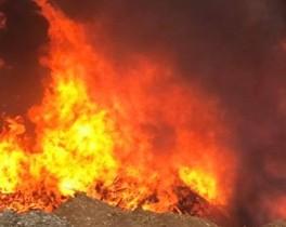 Le feu d'Aghione maîtrisé