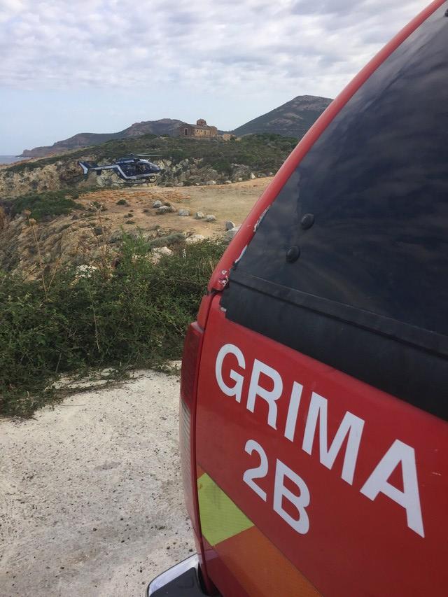 Plage d'Algajola-Aregno : 12 personnes secourues dont une en arrêt cardiaque