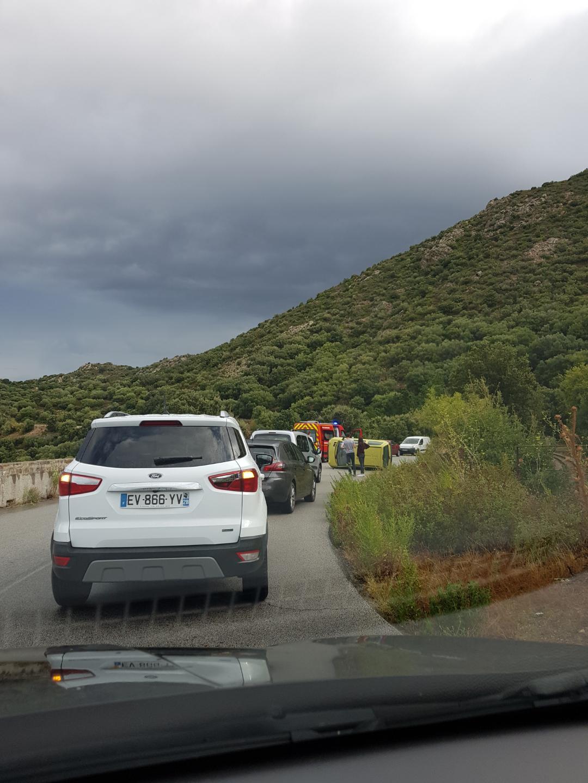 Accident à la sortie de Belgodere : La conductrice blessée