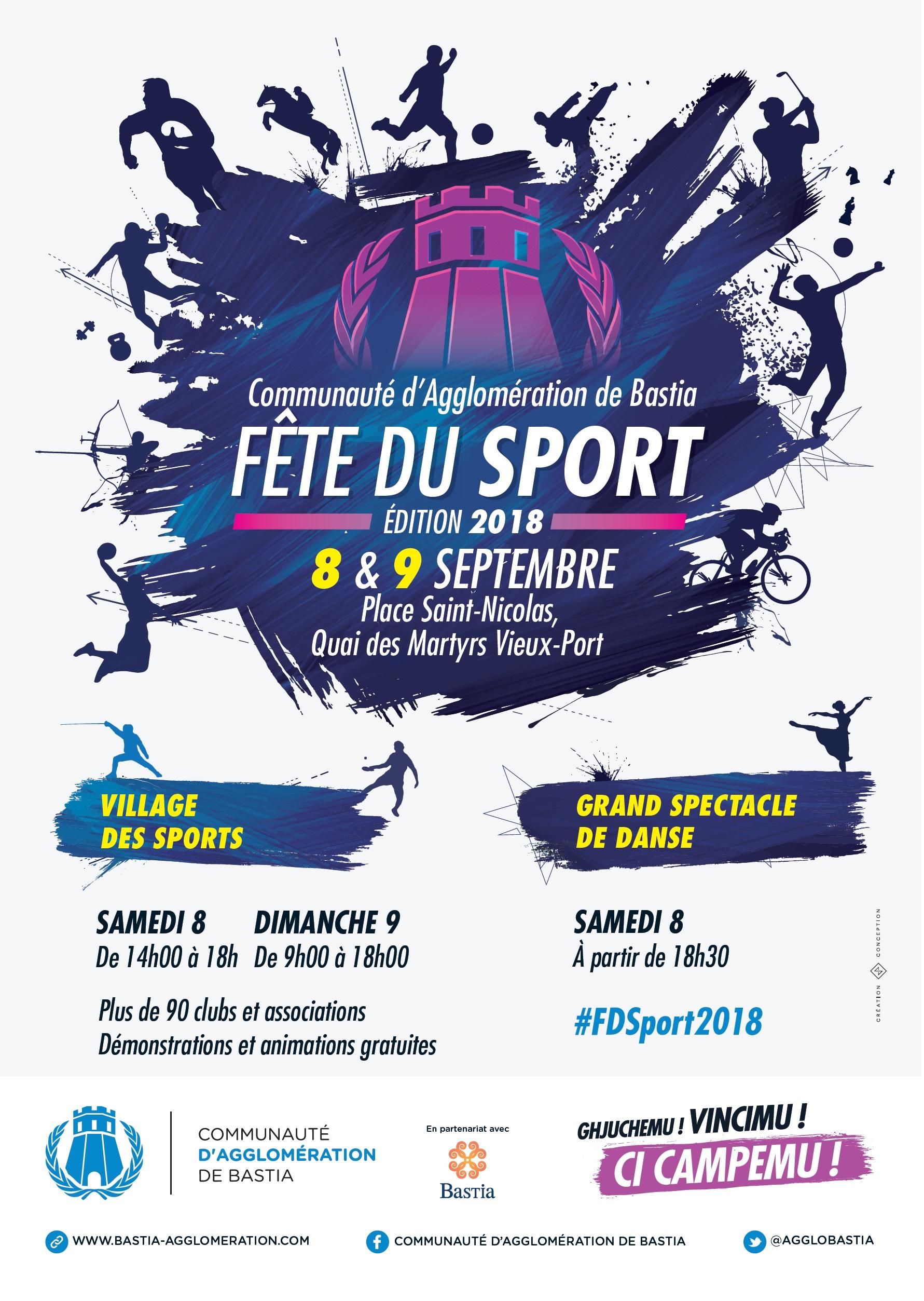 Bastia: Rendez-vous ce week-end pour la «Fête du sport»