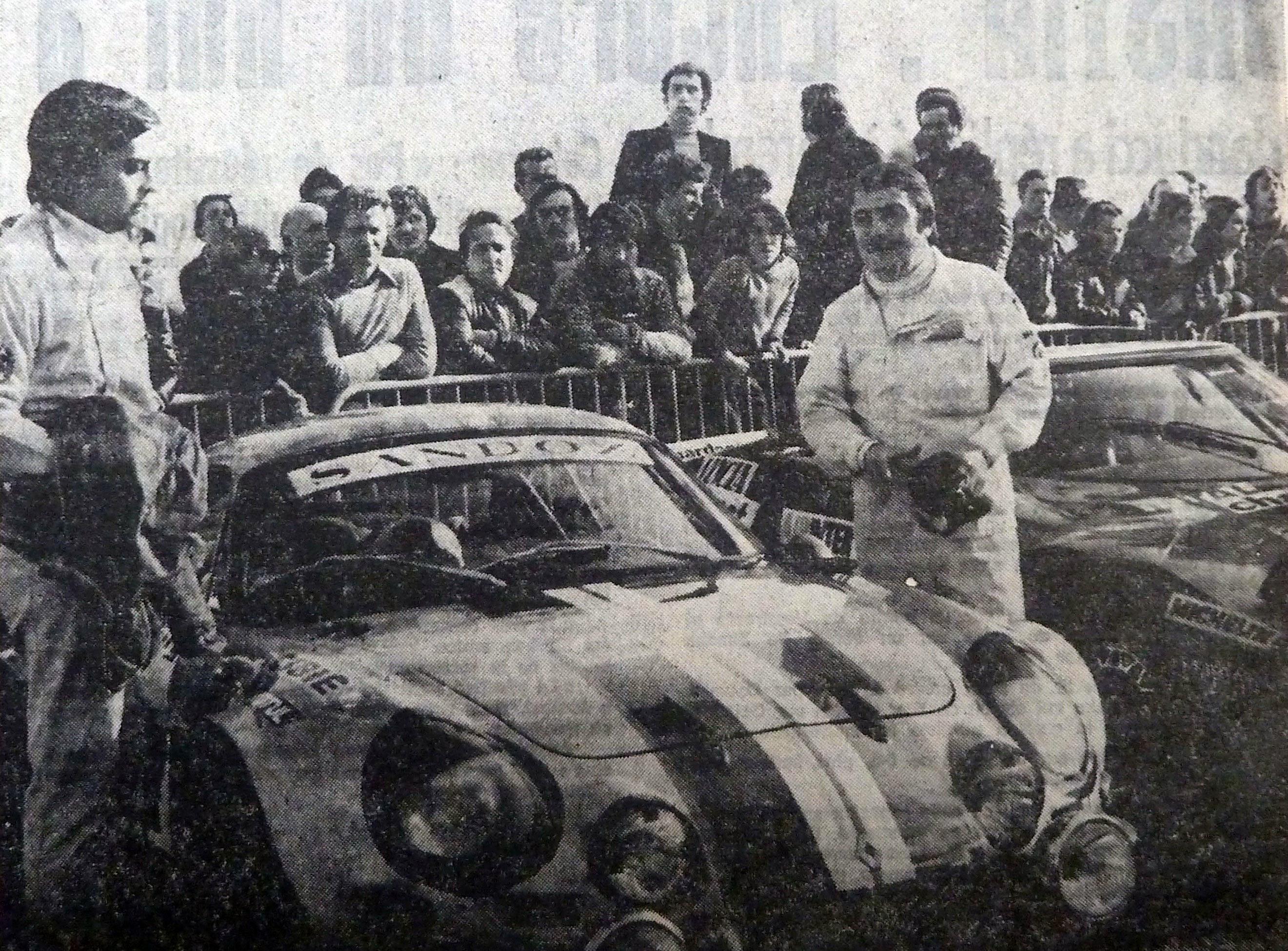 Jean-Marie Soriano (à droite) en compagnie de l'un des frères Simonetti