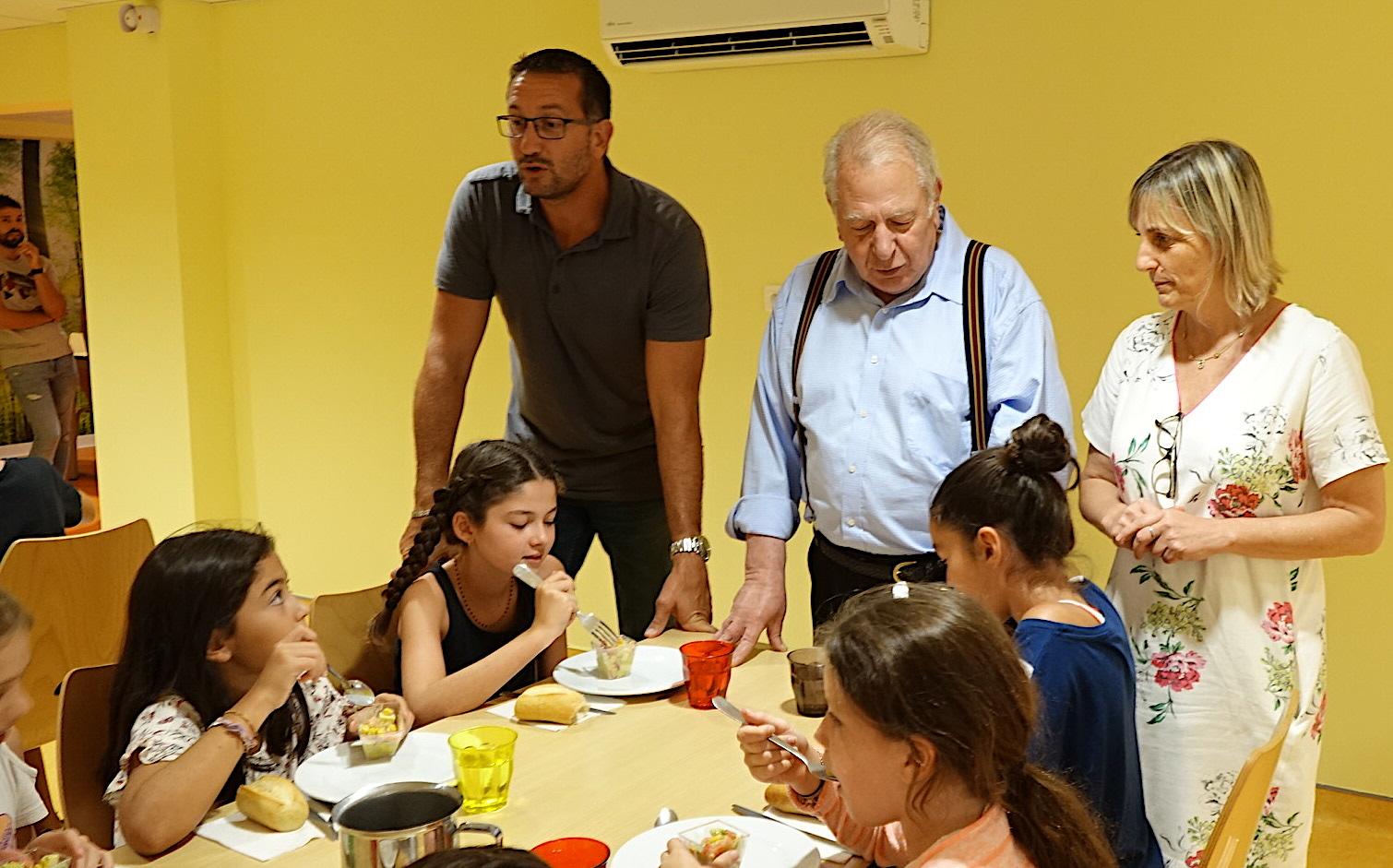 Furiani : Le nouveau restaurant scolaire Claude-Defendini a ouvert