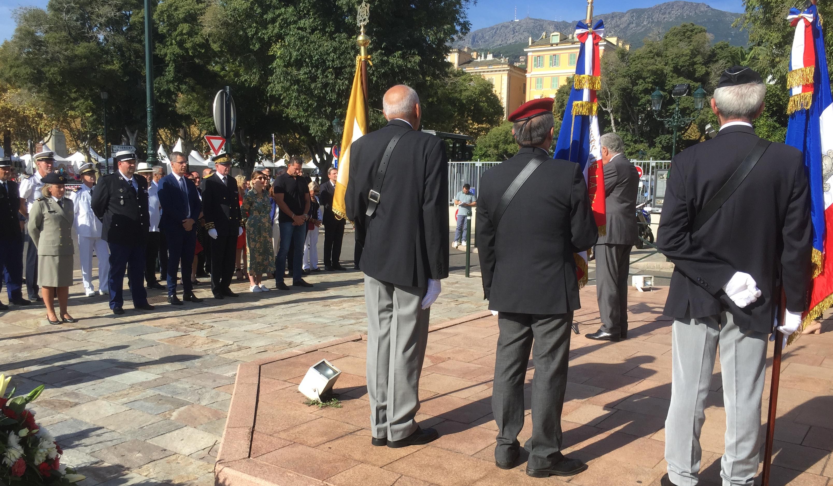 Bastia : Le 75e anniversaire de la libération de la Corse
