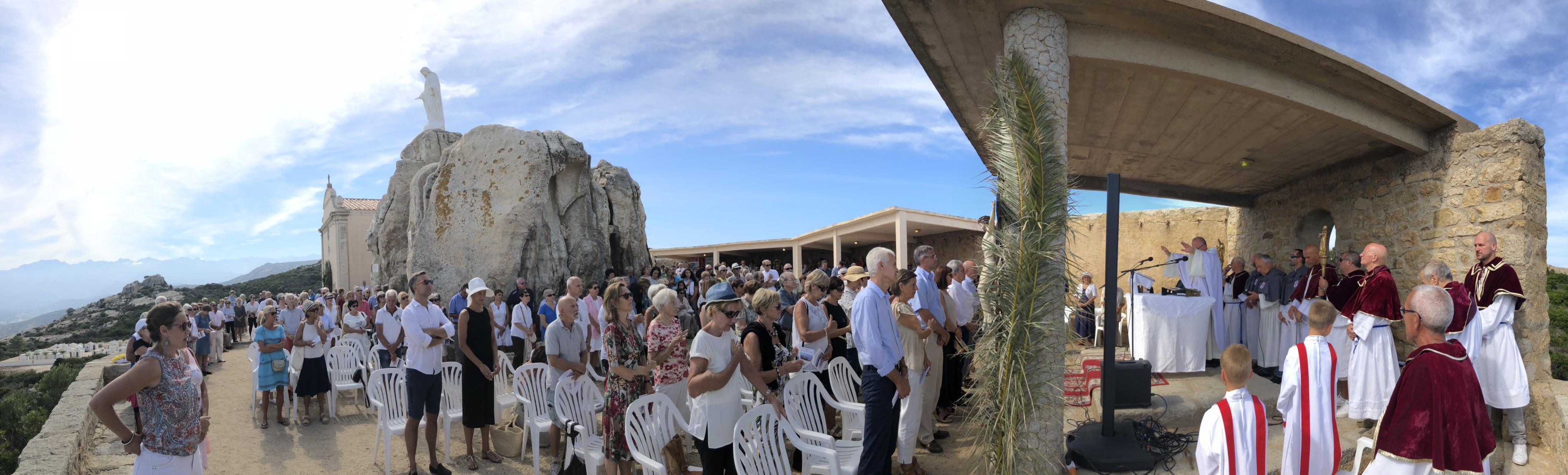 Notre Dame de la Serra à Calvi : Toujours la même ferveur