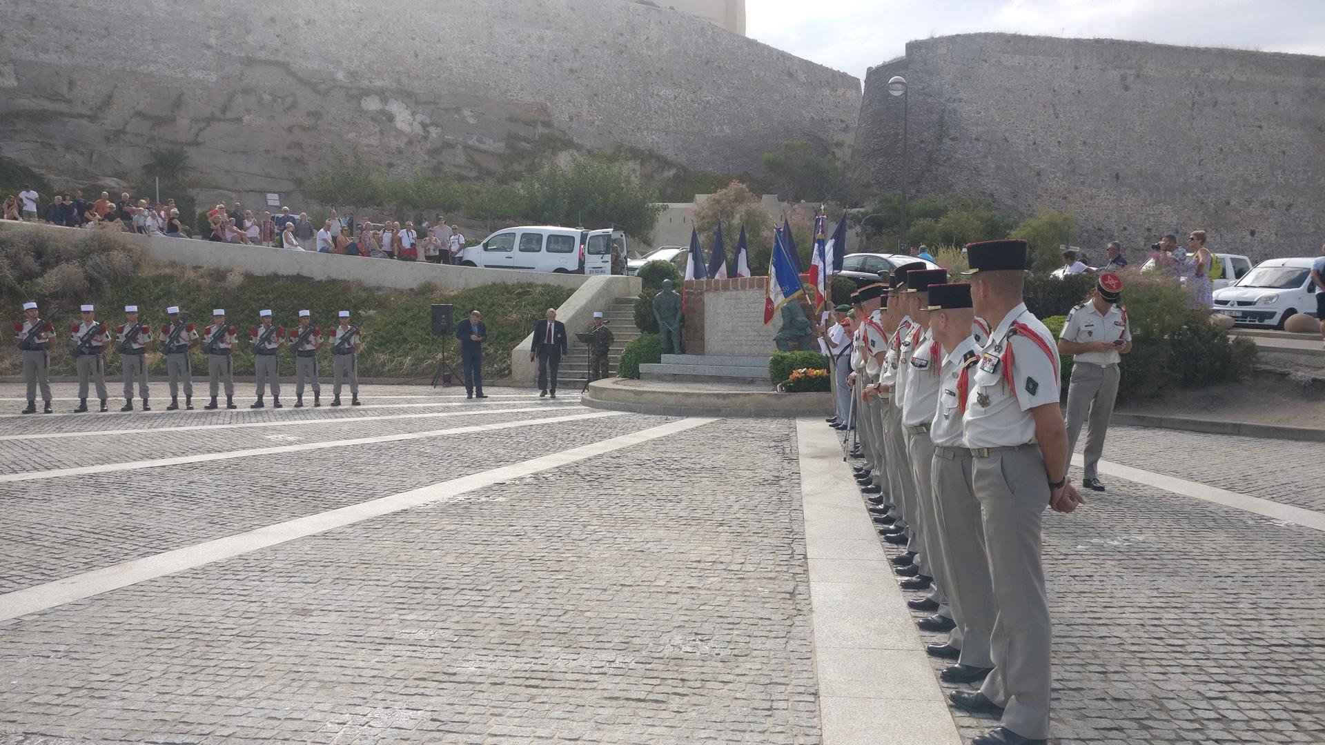 Le 75e anniversaire de la Libération du département célèbré à Calvi jeudi matin