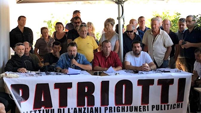 Olivier Sauli soutenu par Patriotti