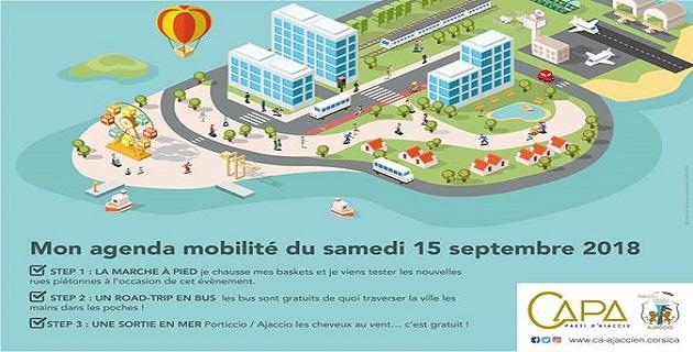 Mix and Move avec la CAPA et la ville d'Ajaccio le 15 septembre