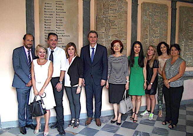 Bastia : La consule de Chine à la rencontre des élèves corses