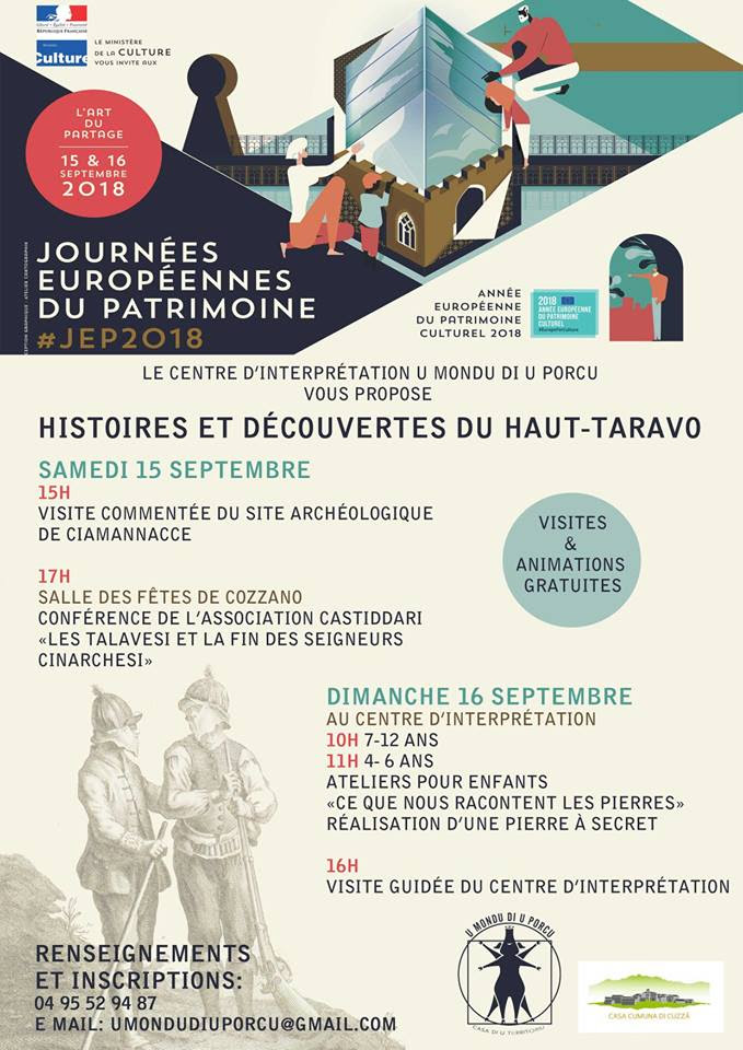 Cozzano : Journées du patrimoine