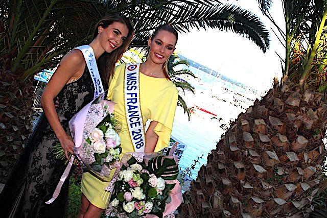 Eva Colas candidate à l'élection de Miss Univers avec Maëva Coucke qui, elle, briguera la couronne de Miss Monde