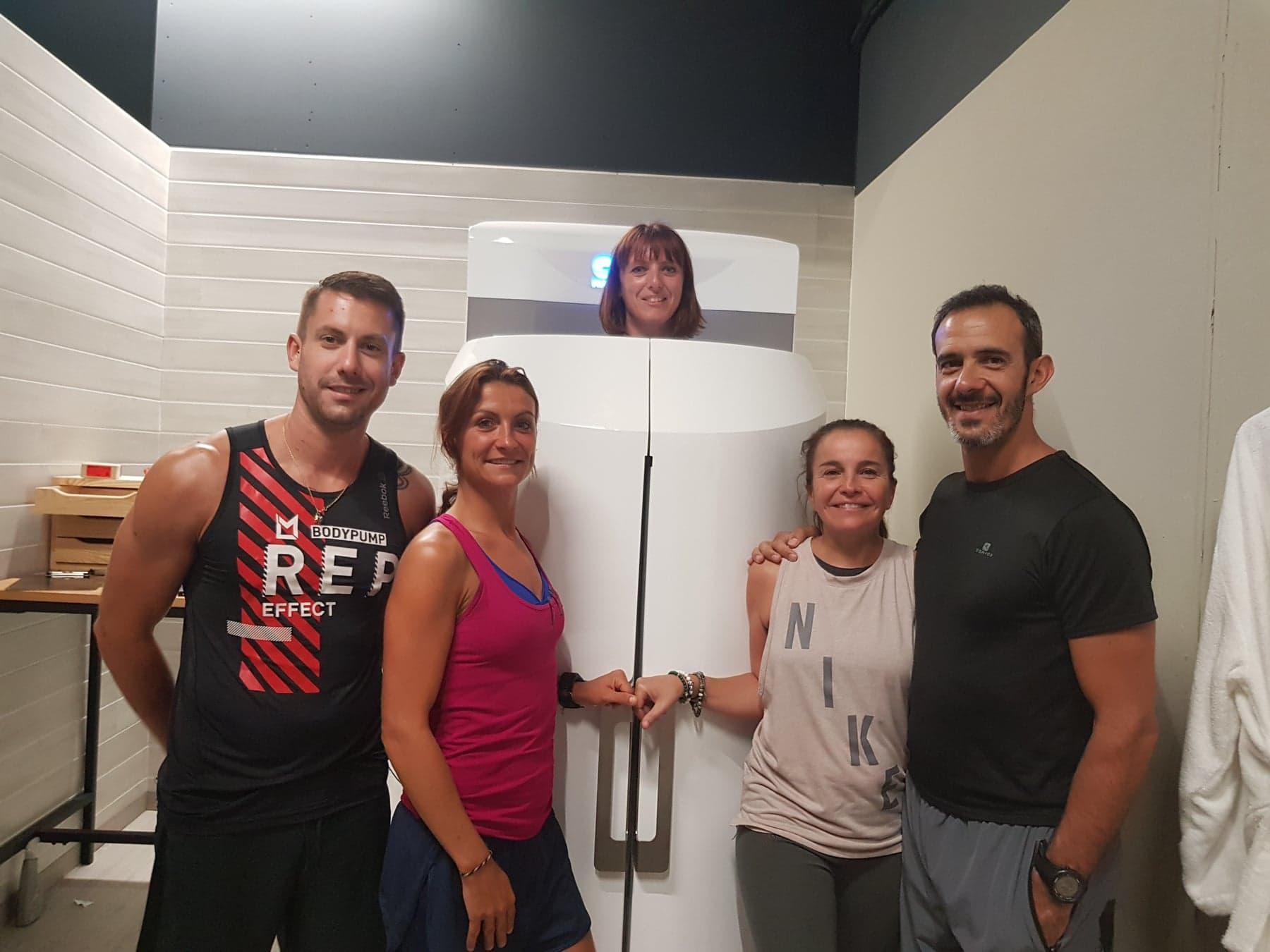 L'équipe du Loft9 à Ajaccio : Muriel , Morgane Jean et Thibault ainsi qu'Alexis absent sur la photo .