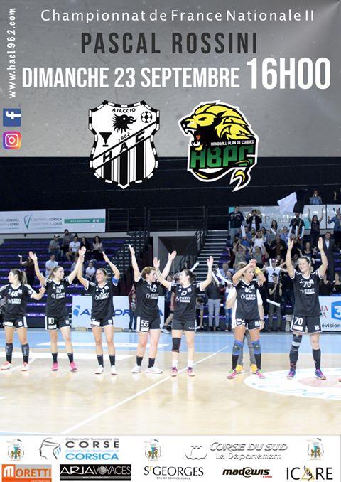Handball N2 Féminin : Le HAC de retour au Rossini