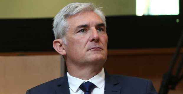 Xavier Lacombe, conseiller territorial du groupe Per l'Avvene et maire de Peri. Crédit Photo M.L.