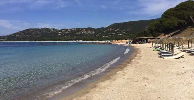 La plage de Palombaggia.