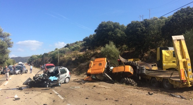 Occhiatana : Une femme âgée de 78 ans perd la vie dans un accident auto - poids lourd sur la RT 30