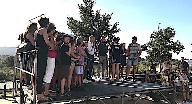 Les champions de Calvi-Balagne récompensés