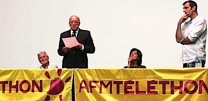 Corte : Lancement du téléthon avec France Pietri-Rouxel