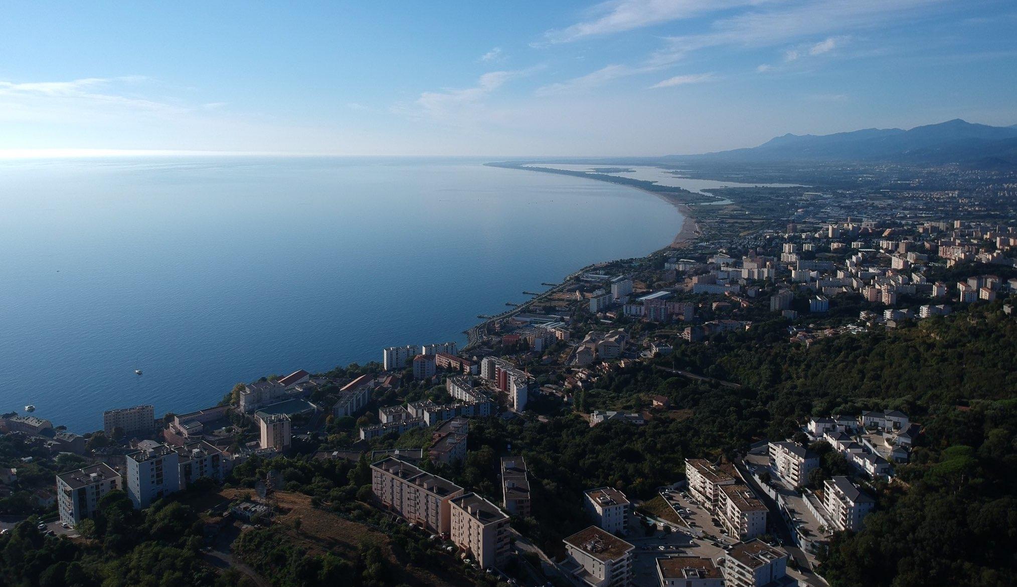 La photo du jour : Les hauts de Bastia