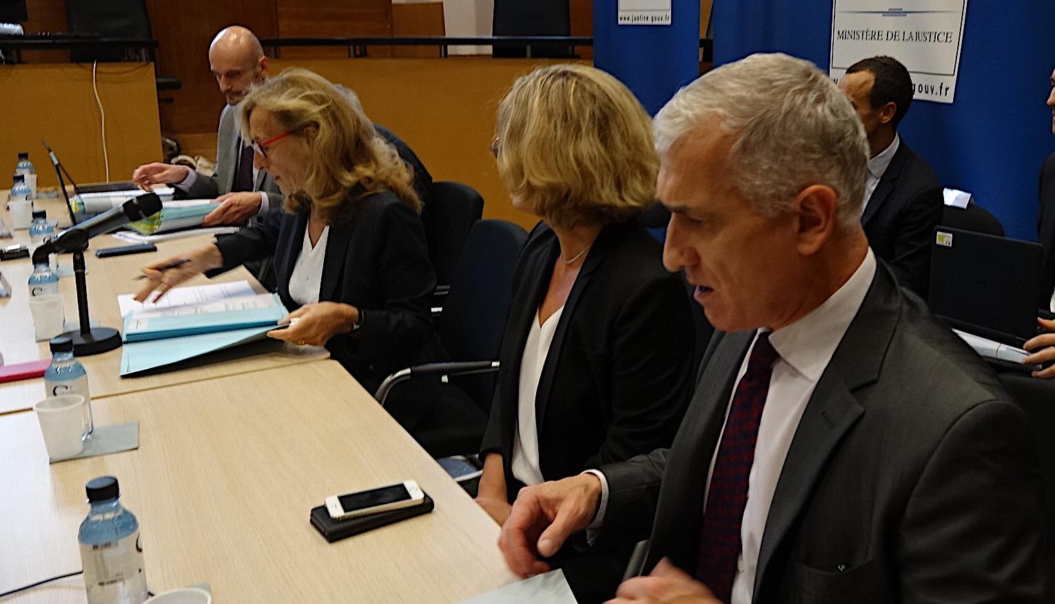 Bastia : Nicole Belloubet a présidé la réunion  de l'instance de coordination pour la Corse