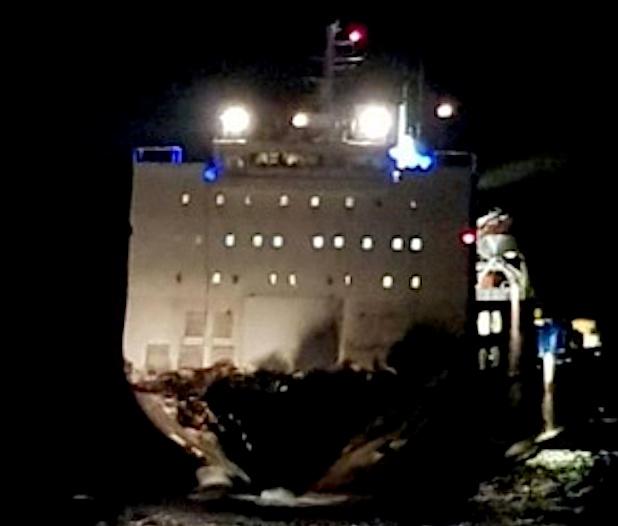 Collision maritime au large du Cap Corse :  Libérés !