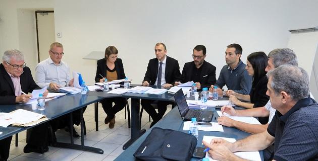 Le Conseil d'Administration de l'Office Foncier de Corse présidé par J.Christophe Angelini