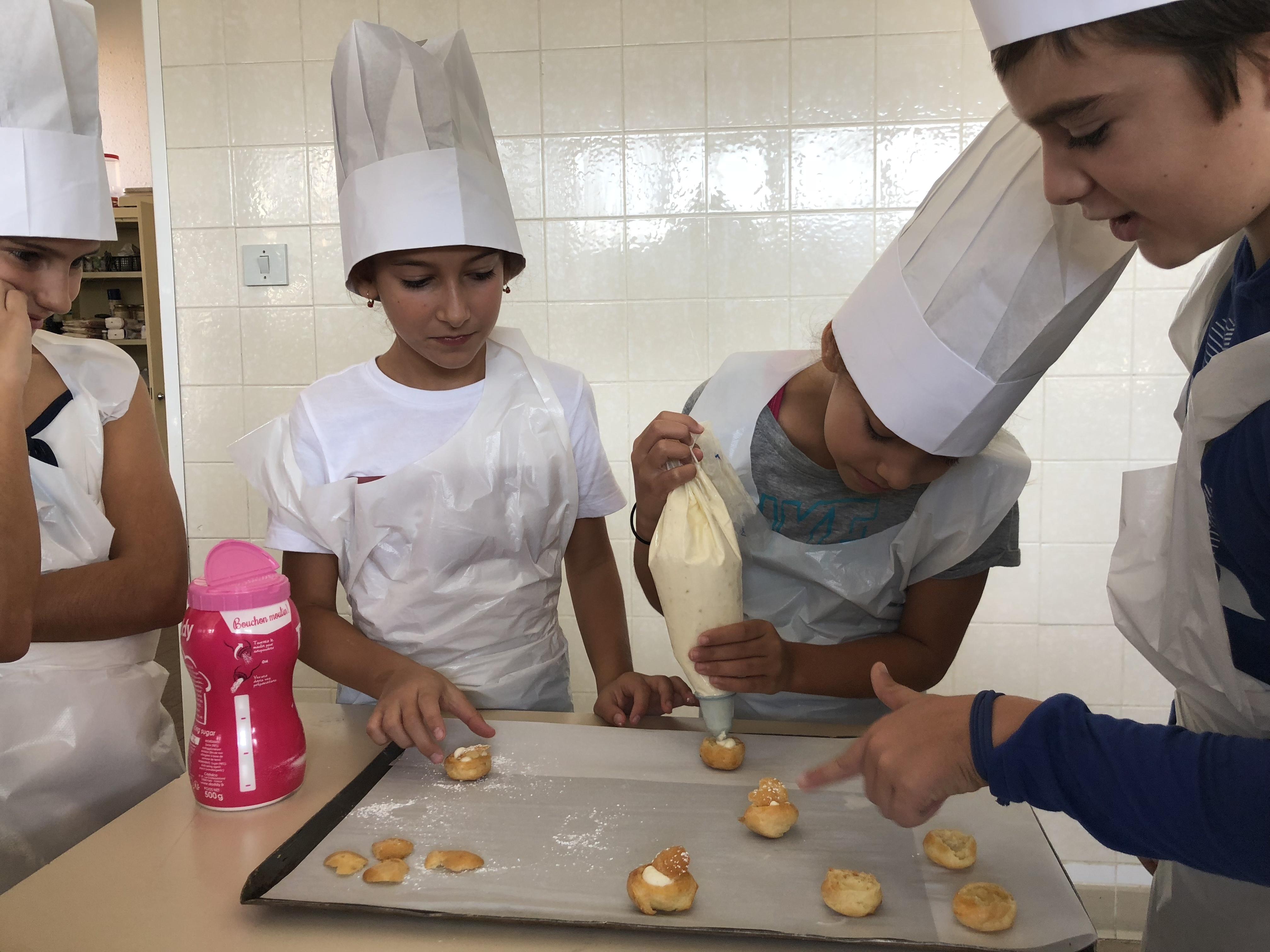 Lisula : Les élèves de CM2  au lycée polyvalent de Balagne pour la semaine du goût