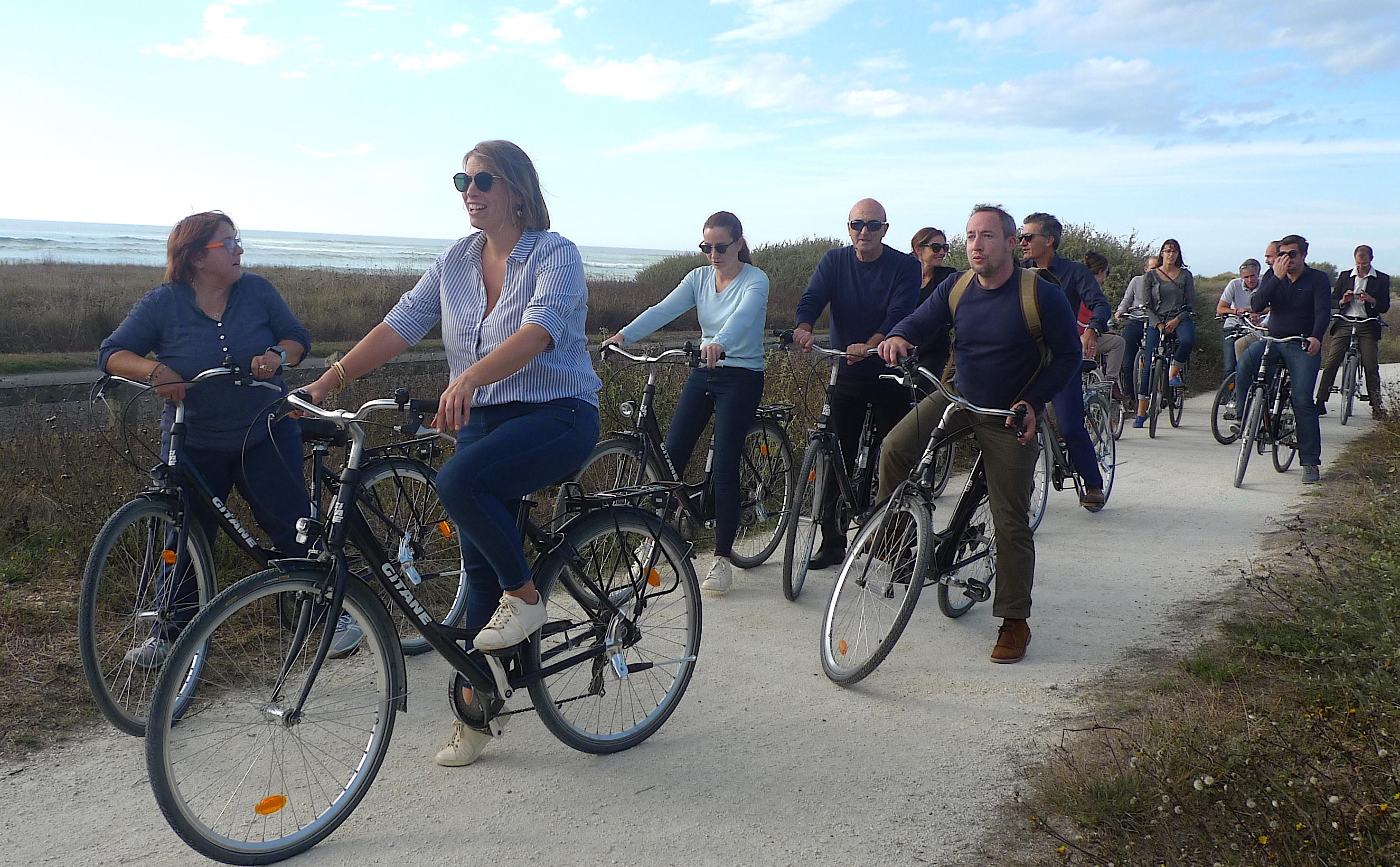 """""""Vers l'écomobilité"""" : 16 techniciens et élus corses à la Rochelle et à l'Île d'Oléron"""
