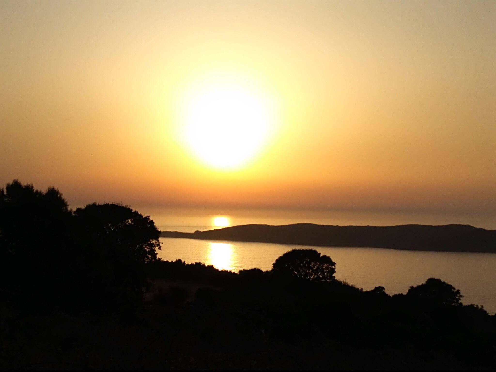 La photo du jour : Coucher de Soleil sur Carghjese