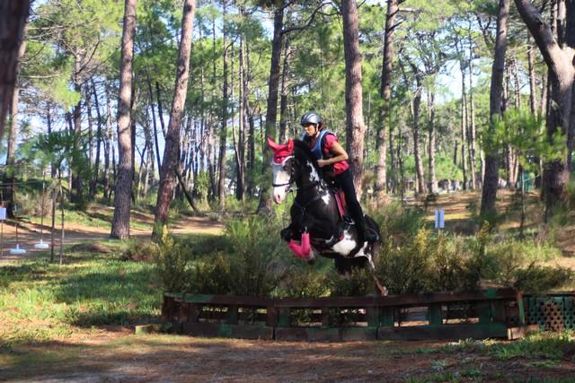 Une compétition d'équitation grandiose sur la plage et dans la pinède de Calvi