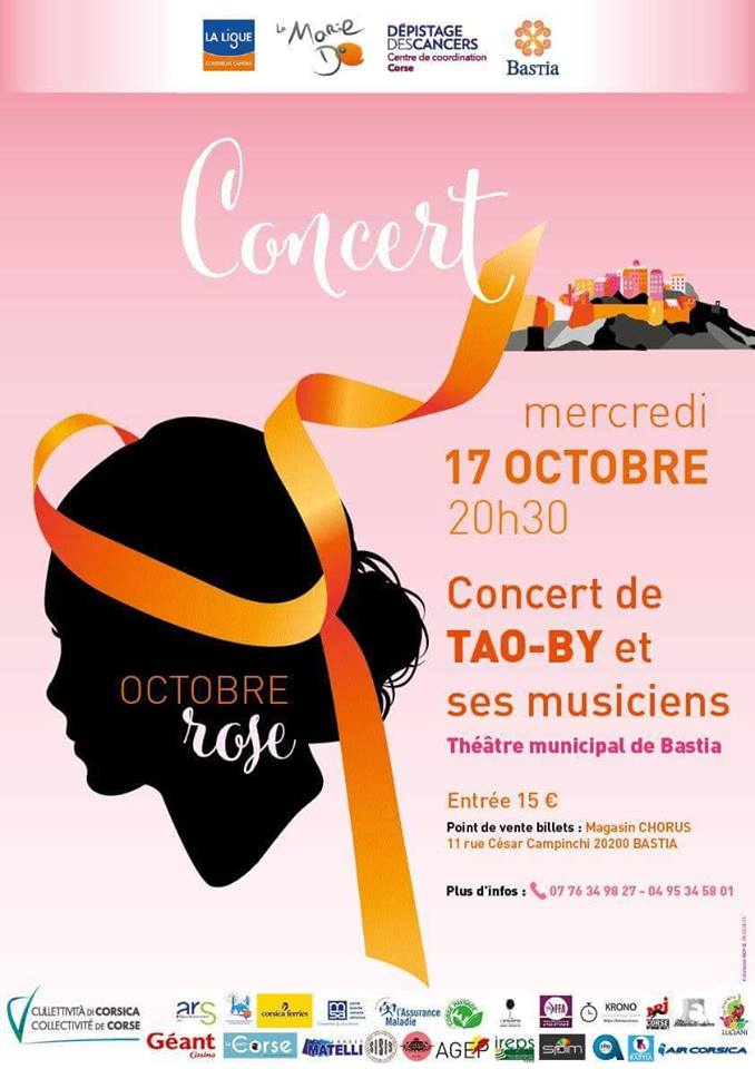 Tao-By et ses musiciens au Théâtre de Bastia le 17 octobre