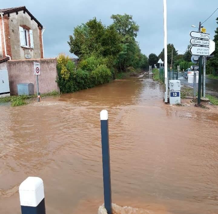 Orages : La décrue s'amorce en Casinca
