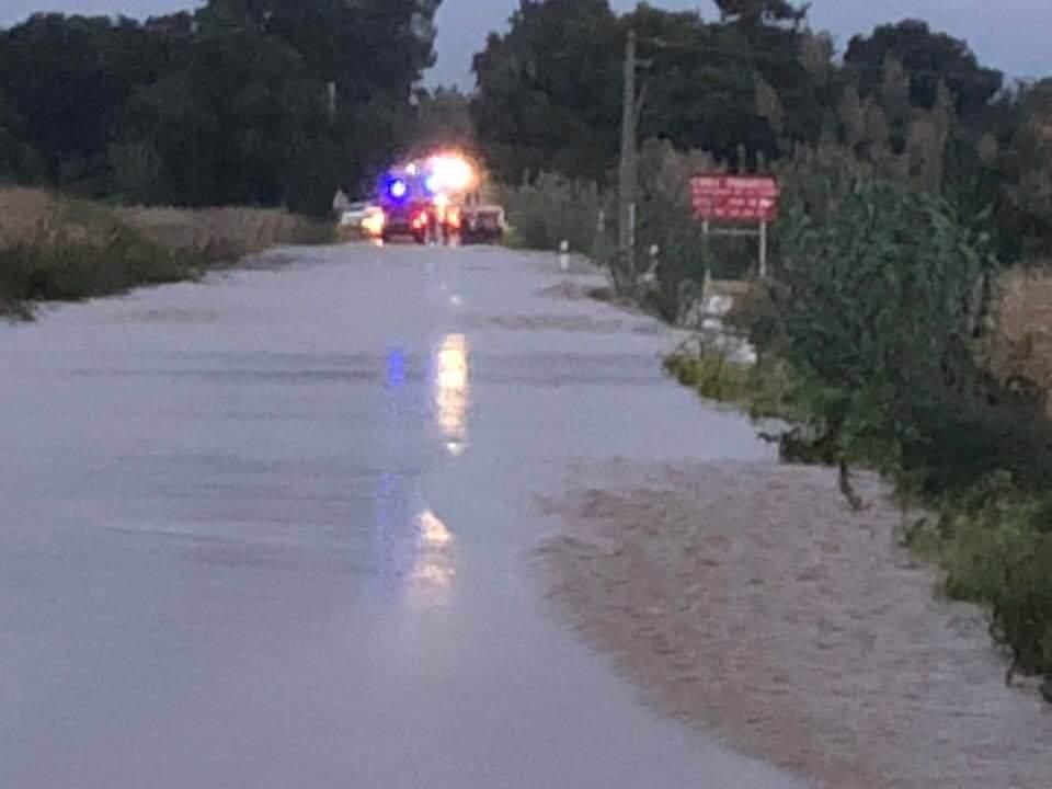 Intempéries: Trois personnes secourues à San Pellegrino et au pont de Folelli