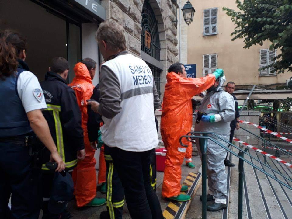 Poste d'Ajaccio : Lettre suspecte en cours d'analyse sur place par les marins pompiers de Marseille, les quatre agents hospitalisés