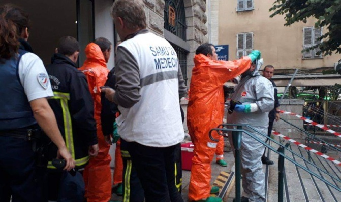 Poste d'Ajaccio : La poudre n'était pas toxique.  Réouverture dès ce jeudi