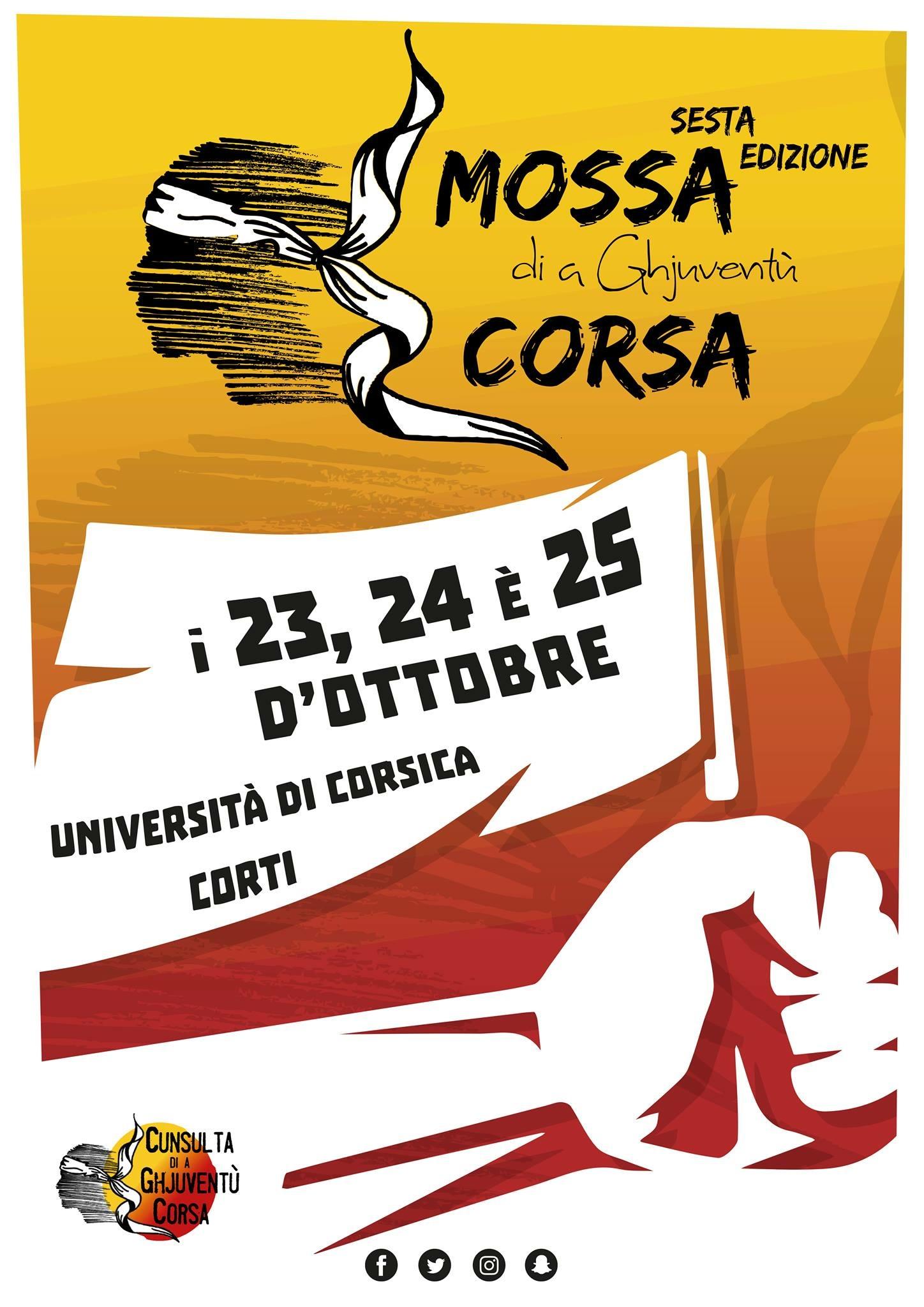 6sta edizione di A Mossa si à Giuventù Corsa in Corti