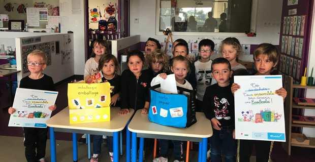 La classe bilingue de l'école maternelle de Folelli en Casinca.