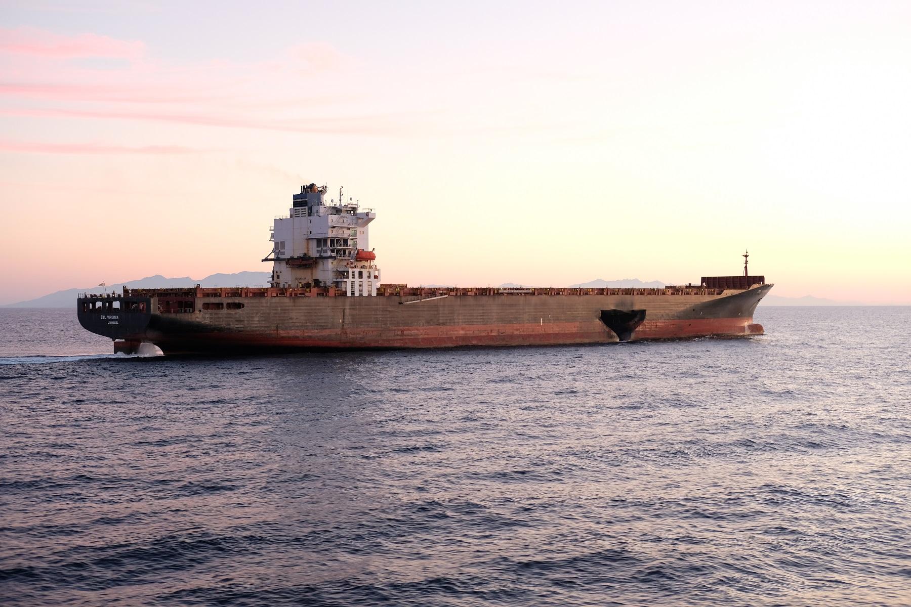 """Collision maritime dans le Cap Corse : """"Le Virginia"""" quitte son mouillage"""